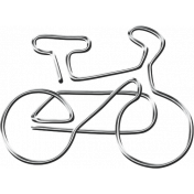 Ride A Bike- Bicycle- Paper Clip