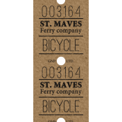 Ride A Bike- Ticket