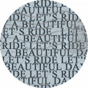 Ride A Bike- Scrap 03