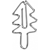 Metal Paper Clips- Tree