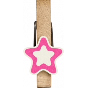 Brothers And Sisters-Clothespin-Star