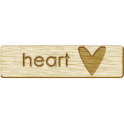Brothers and Sisters- Heart Wood Veneer