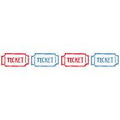 Brothers and Sisters- Ticket Strip