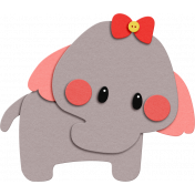 Oh Baby baby June 2014 Blog Train- Felt Elephant