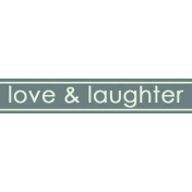 I Love You Man- Love and Laughter- Label