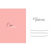 Oh Baby Baby- Nine Months- Milestone Card Pink 02