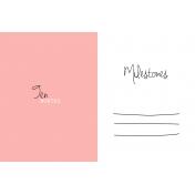 Oh Baby Baby- Ten Months- Milestone Card Pink 02