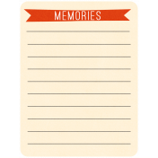 Oh Baby Baby- Memories- Journal Card