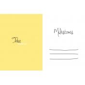 Oh Baby Baby- Three Months- Milestone Card Yellow 02