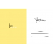 Oh Baby Baby- Five Months- Milestone Card Yellow 02
