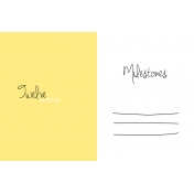 Oh Baby Baby- Twelve Months- Milestone Card Yellow 02