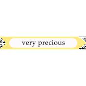 Oh Baby Baby- Precious- Arrow Label