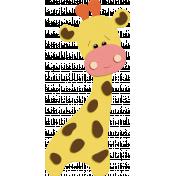Oh Baby Baby- Felt Giraffe