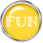Sand And Beach- Fun Button