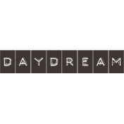 Sand And Beach- Daydream Word Strip Label