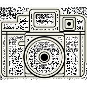 July Blog Train- Travel- Camera- Sticker