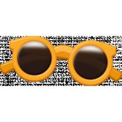 Sand And Beach- Sunglasses Orange