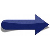 Sand And Beach- Sticker Arrow Peel Navy Blue
