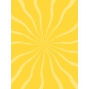Sand & Beach- Sun Rays- Journal Card