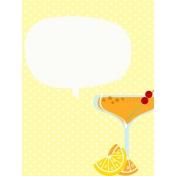 Sand & Beach- Cocktail- Journal Card