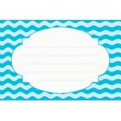 Sand & Beach- Waves- Journal Card