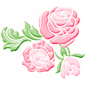 It's The Magic: Fairy Tales Edition- Rose Sticker