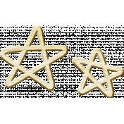 It's The Magic: Fairy Tales Edition- Wood Stars