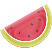 Heat Wave Elements- Watermelon Wedge