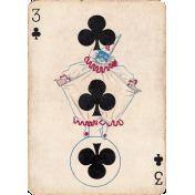At The Fair- Clown Card
