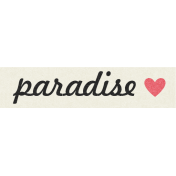 At The Fair- Paradise- Label