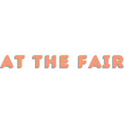 Blog Train | September 2014-At The Fair