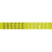 Delightful- Breeze Shower- Label