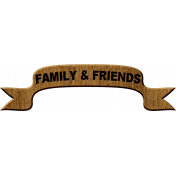 Cast A Spell Elements- Family and Friends Banner