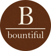 Cast A Spell Elements- Round Bountiful Sticker