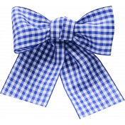 Cast A Spell Elements- Gingham Ribbon Bow