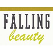 Delightful- Falling Beauty- Label