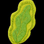 Delightful- Felt Leaf 01