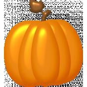 Cast A Spell Elements- Plastic Pumpkin