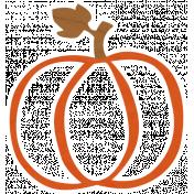 Cast A Spell Elements- Pumpkin Sticker 01