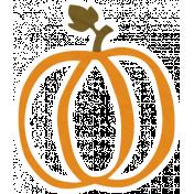 Cast A Spell Elements- Pumpkin Sticker 02