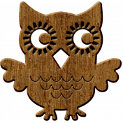 Cast A Spell Elements- Wooden Owl