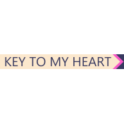 Buried Treasures- Key To My Heart- Tag