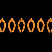 It's Elementary, My Dear- Orange Stitch