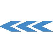 It's Elementary, My Dear- Blue Painted Arrows 02