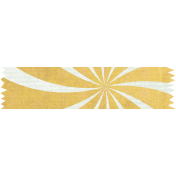 t's Elementary, My Dear- Yellow Starburst Washi Tape