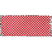 It's Elementary, My Dear- Red Polka Dots Washi Tape