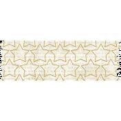 It's Elementary, My Dear- Stitched Stars Washi Tape