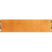 It's Elementary, My Dear- Orange Washi Tape