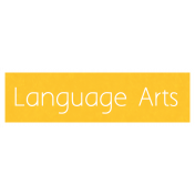 Language Arts Word Art