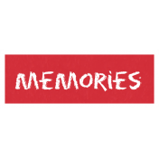 Memories Word Art